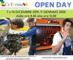 Cremona 7 Dicembre – OPEN DAY a CR.FORMA