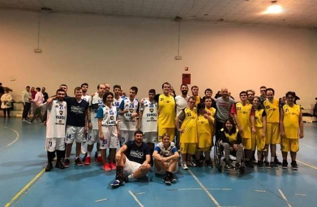 Cremona  i tabellini quarta giornata baskin 30/11-01/12/2019