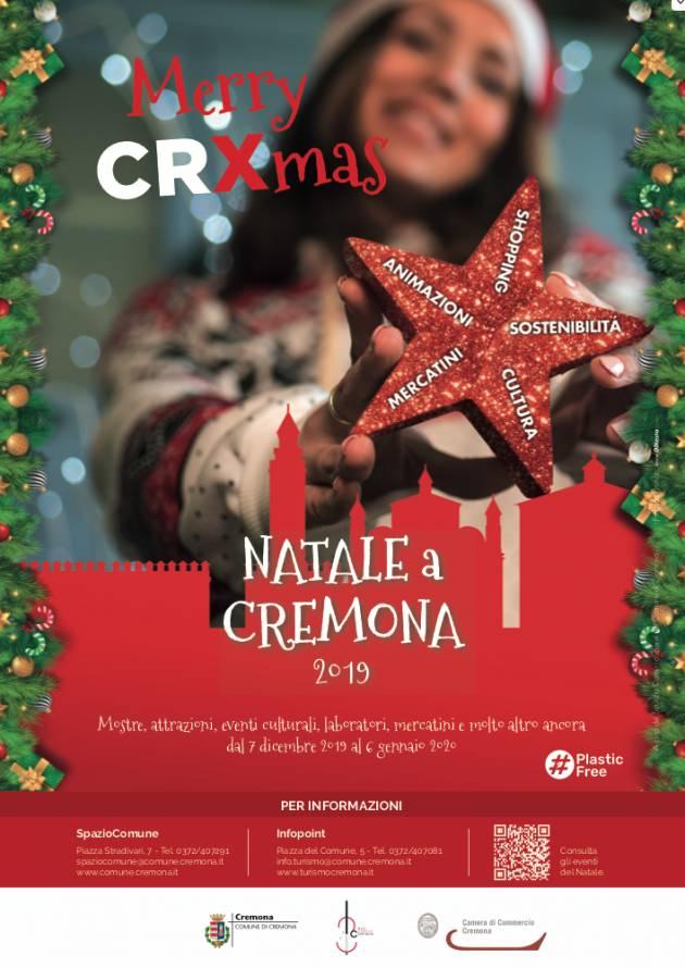 Presentato Merry CRXmas, il Natale a Cremona 2019