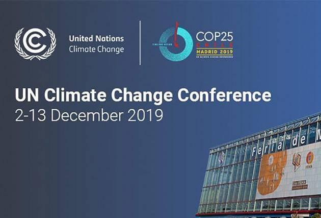 Madrid Cop25 Cgil Clima 'L'ambientalismo può cambiare il modello di sviluppo' di Giorgio Sbordoni