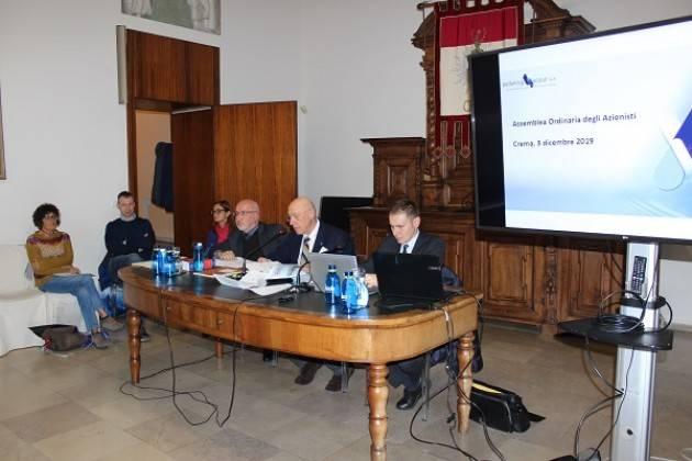 Padania Acque S.p.A.: A Crema l'Assemblea autunnale dei Soci