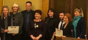 ALESSIA ZUCCHI RICEVE IL PREMIO  'DONNE PER IL MADE IN ITALY'
