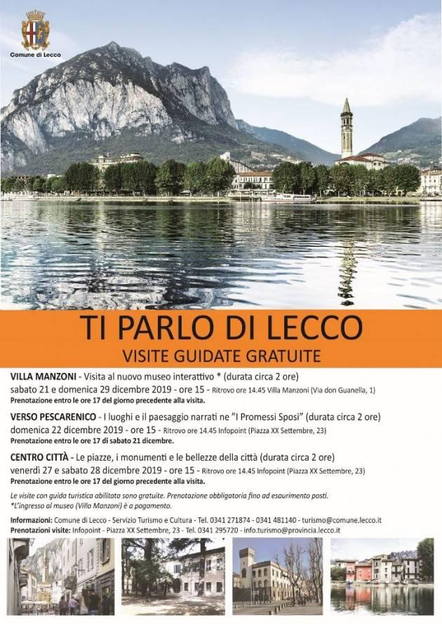 Ti parlo di Lecco: visite guidate gratuite in citta'