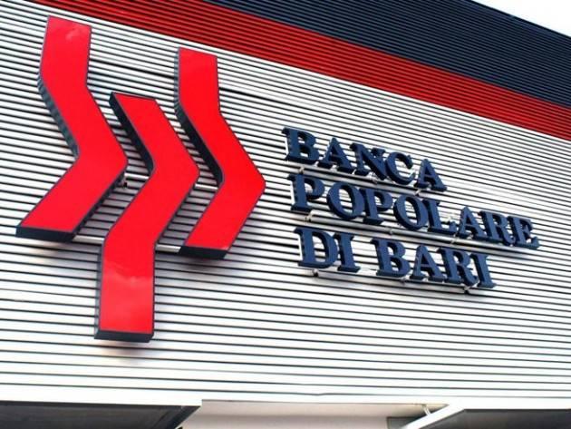 Banca Popolare di Bari: quante banche dovranno saltare prima di renderci conto che il sistema non funziona?