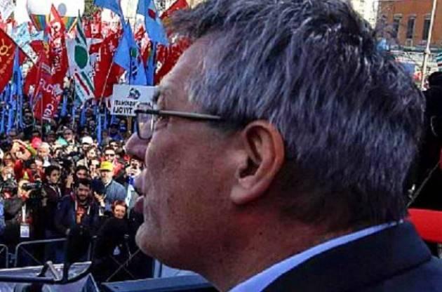 Cgil Oggi a Roma Landini: vogliamo un nuovo Stato sociale