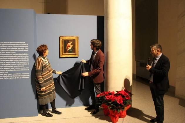 Omaggio a Raffaello - Svelata una copia antica della Madonna d'Orleans
