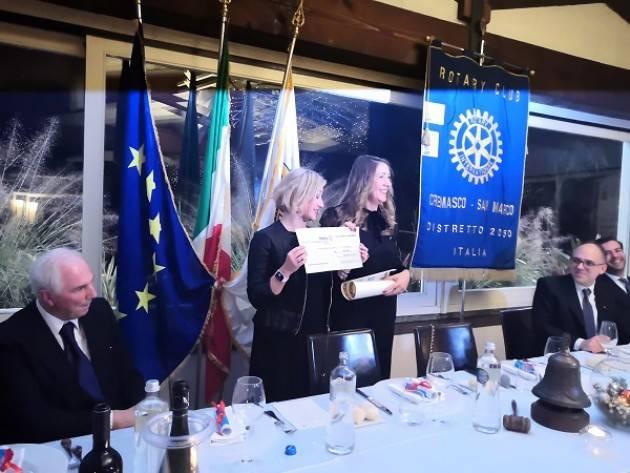 A Mai Stati Sulla Luna il premio 'Rotary Cremasco San Marco 2019'