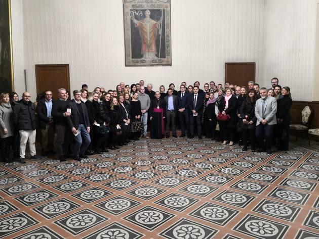 Natale, Coldiretti Lombardia incontra  l'Arcivescovo di Milano Mario Delpini