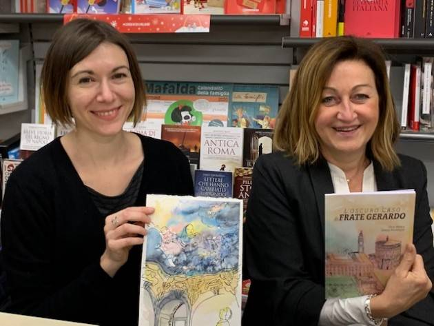 Crema Presentato il nuovo libro L'oscuro caso di Frate Gerardo di Silvia Merico