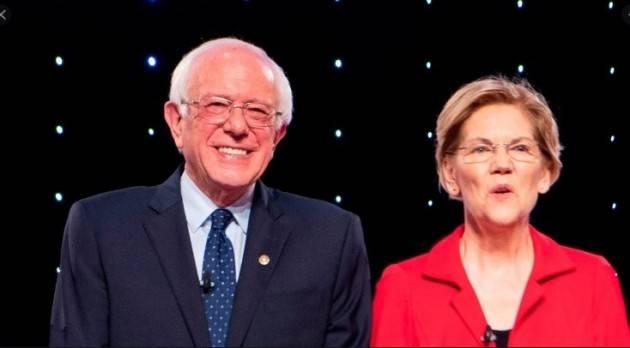Elezioni USA Il portabandiera della sinistra: Warren o Sanders? Domenico Maceri, PhD