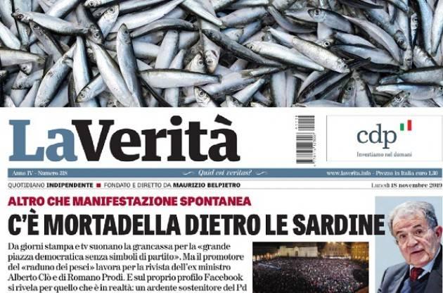 L'ECO FORUM DEI LETTORI - Sardine in salsa piddina? Quando il pesce puzza dalla testa...