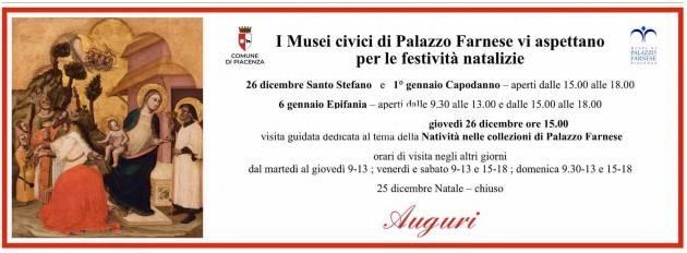 Piacenza Visita al Museo, idee per le festività natalizie,mostra dedicata a Fugazza, aperture il 26 dicembre e 1° gennaio