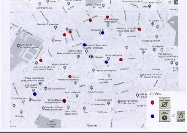 CREMA M5S  ZONA A TRAFFICO LIMITATO: EVITARE CHE IL CATTIVO POSIZIONAMENTO DELLA SEGNALETICA CREI CONFUSIONE  E INCERTEZZA!