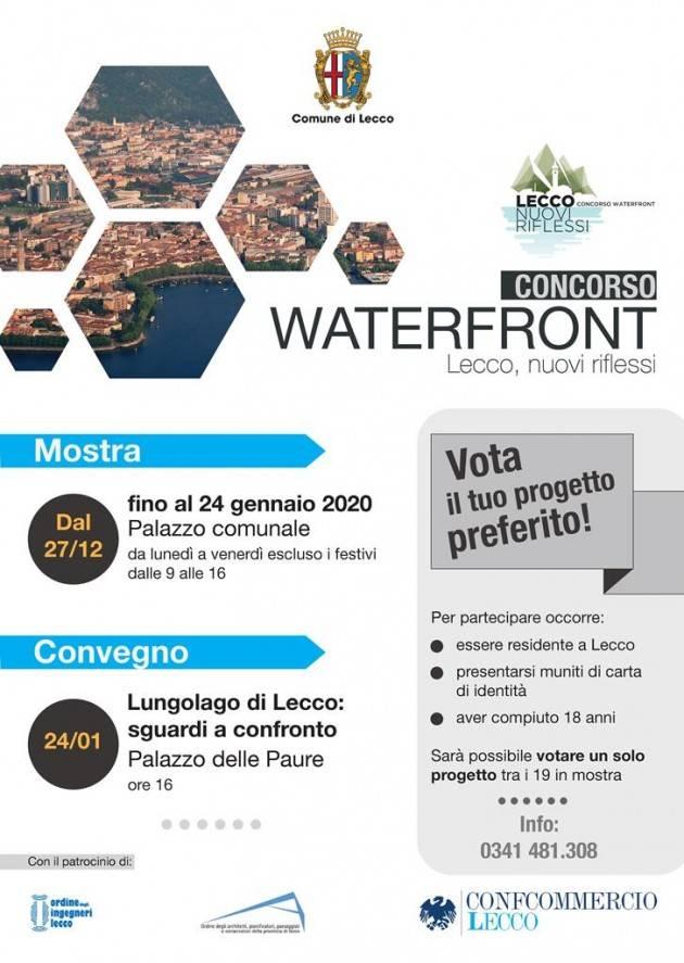 Waterfront: Lecco nuovi riflessi. Le proposte progettuali in mostra