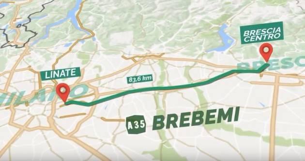 A35 Brebemi, sconto del 20% anche per tutto il 2020