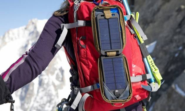ZEUS  Il pannello solare pieghevole perfetto per gli escursionisti