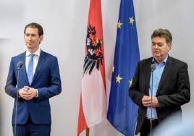 GOVERNO APRIPISTA IN EUROPA ?AUSTRIA: VERDI AL GOVERNO CON KURZ – DI FRANCESCO BASCONE