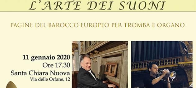 L'arte dei suoni - Pagine del barocco europeo per tromba e organo