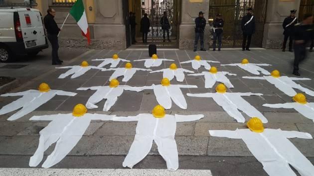 MORTI LAVORO, PILONI (PD): ' DATI INAIL CONFERMANO CHE IN LOMBARDIA C'e' EMERGENZA'