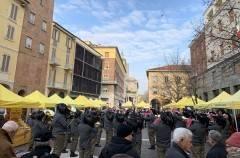 Coldiretti Cremona Campagna Amica domenica in piazza Stradivari