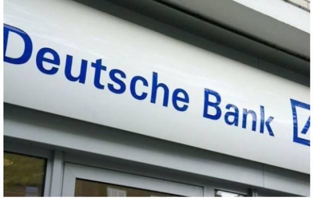 Cgil Credito Deutsche Bank, il nuovo anno porta 217 esuberi