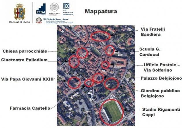 Barriere architettoniche: partito il monitoraggio in centro Lecco