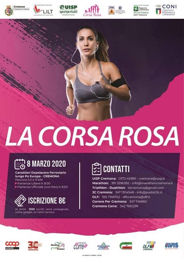News UISP Cremona : Corsa Rosa e  Premio Mimosa