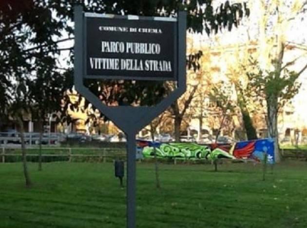 M5S VALORIZZARE IL PARCO PUBBLICO DI OMBRIANO 'VITTIME DELLA STRADA'