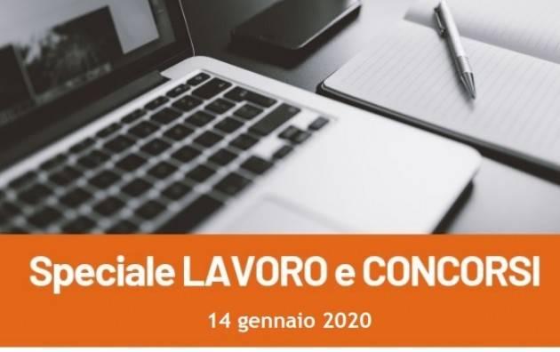 Informa Giovani Cremona SPECIALE LAVORO E CONCORSI del 14 gennaio 2020