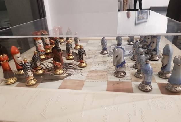 Grande successo per Silvana Landolfi La sua personale alla Milano Art Gallery piace