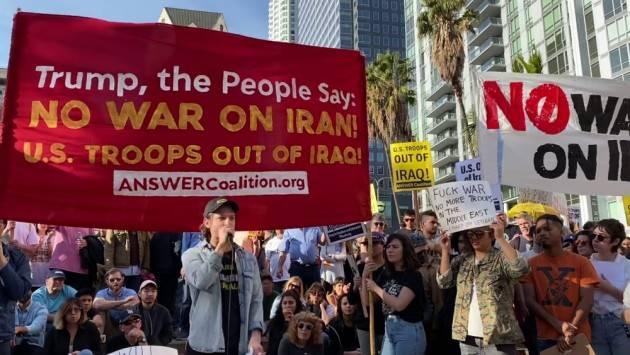 L'iniziativa  Il 25 gennaio una giornata per la pace in Iran indetta dal movimento pacifista USA
