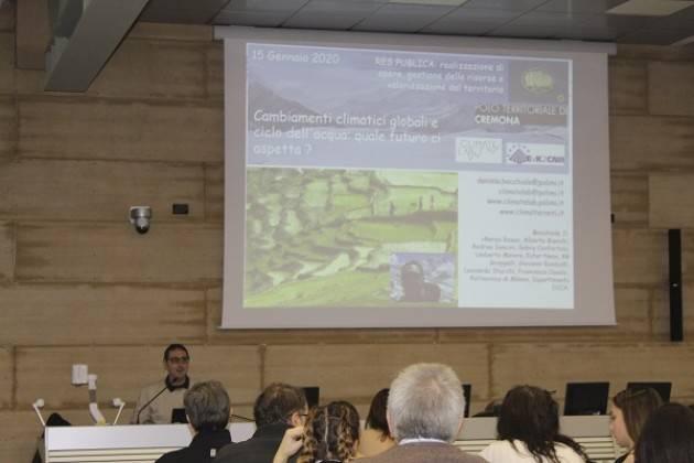Politecnico Milano Campus Cremona Cambiamenti climatici globali e ciclo dell'acqua: quale futuro ci aspetta?