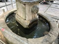 Al via il restauro della ''Fontana del Delfino'' a Bergamo