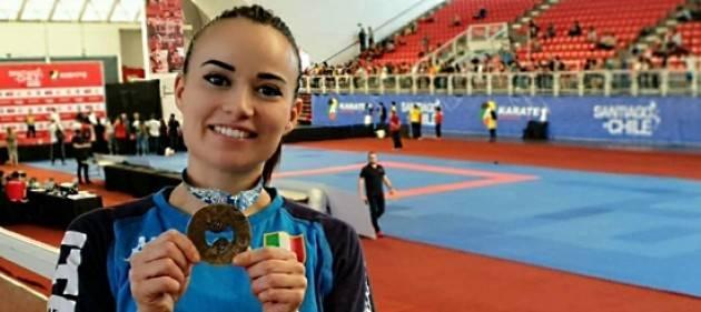 Serie A karate 1: Viviana Bottaro vince a Santiago del Cile