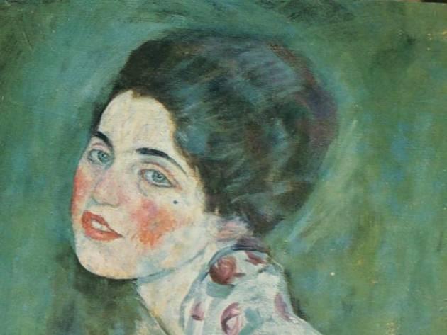 Piacenza Autentico il  'Ritratto di signora' di Gustav Klimt