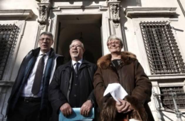 Incontro Governo-Cgil-Cisl-Uil giù le tasse sul lavoro Landini,Furlan,Barbagallo soddisfatti