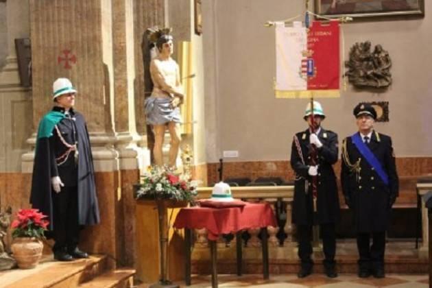 Ricorrenza di S. Sebastiano, patrono della Polizia Locale: messa di commemorazione il 20 gennaio