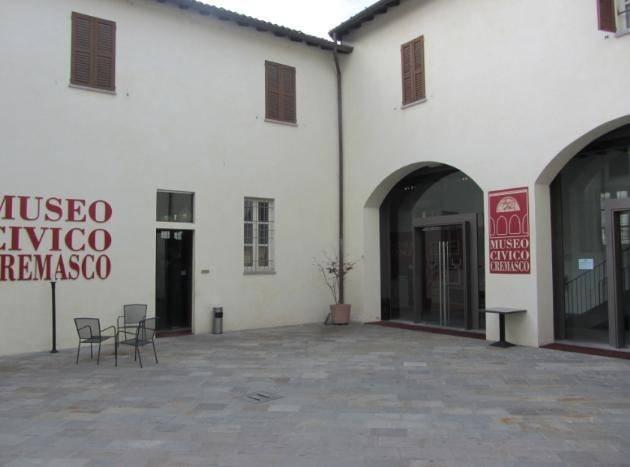 LAVORI IN CORSO AL MUSEO CIVICO DI CREMA E DEL CREMASCO