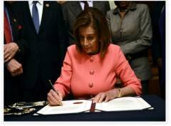 Gli Stati (dis)Uniti, Nancy Pelosi e l'impeachment by Oscar Bartoli