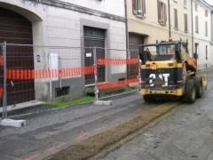 Ostiano, Padania Acque S.p.A.: prosegue il cantiere fognario con i lavori in via San Rocco