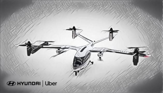 In arrivo il Taxi volante di Uber e Hyundai