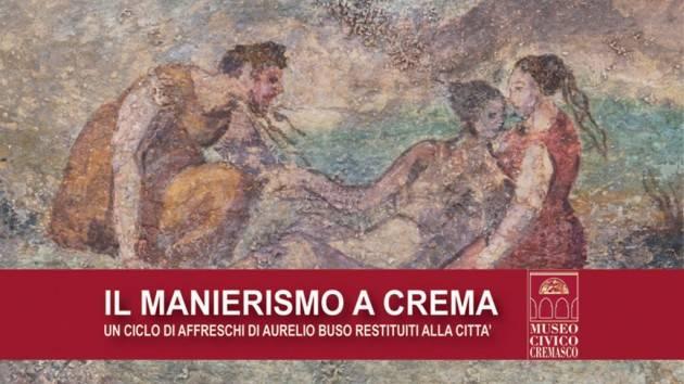 Crema Domenica 26 gennaio visita guidata alla mostra 'Il Manierismo a Crema..'
