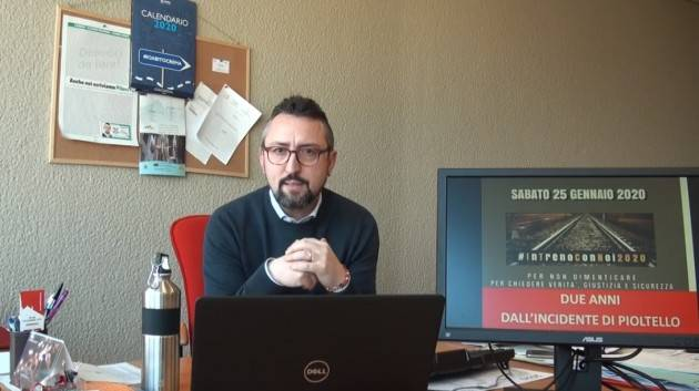 News Piloni (Pd): TRENORD, REPLICA A TERZI, DISASTRO FERROVIARIO DI PIOLTELLO (Video)