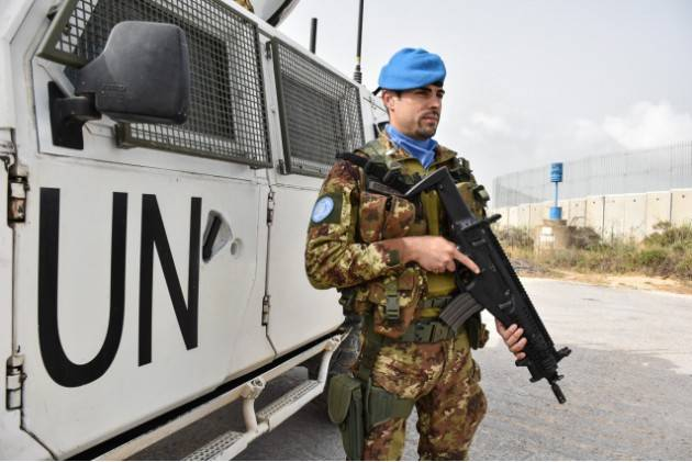 UNIFIL: I MILITARI ITALIANI ADDESTRANO LE FORZE LIBANESI