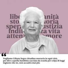 Cremona 27 gennaio giornata della memoria omaggio a Liliana Segre