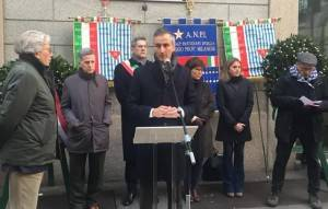 Lnews Giorno della Memoria: Presidente Alessandro Fermi questa mattina a cerimonia ex Albergo Regina di Milano