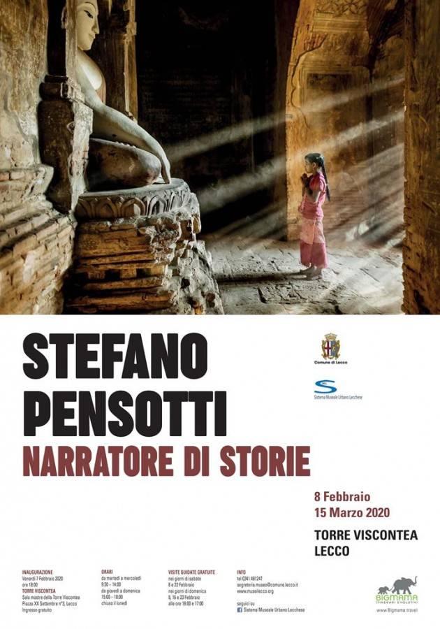 Stefano Pensotti. Narratore di storie