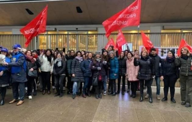 Cgil Lombardia In mille sotto il Pirellone: 'No alla delibera sui nidi'