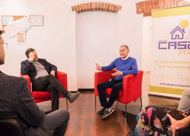 Cremona Gruppo Casapoint  'Valorizzare il talento, prendere in mano la vita' Sarzano ha presentato  il suo libro