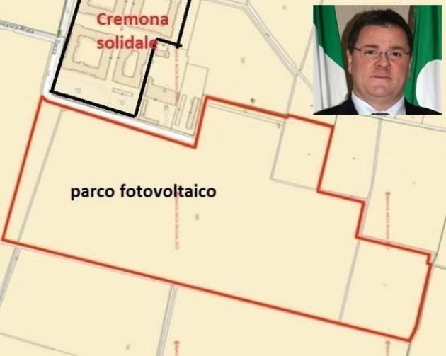 FOTOVOLTAICO Cr SOLIDALE FORZA ITALIA: scoperti, Galimberti e 2 assessori avevano dato l'OK . Il Sindaco chieda scusa.